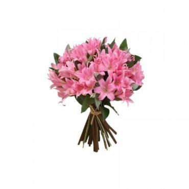 Ramo lilium rosa Mariposa